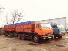 Послуги зерновозів КАМАЗ (самоскиди)