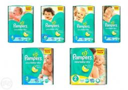 "Продам оптом підгузники""Pampers Active Baby GIANT PACK"""