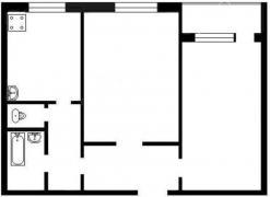 Продаємо 2-х кімнатну квартиру поліпшеного планування, Київ