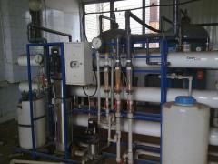Продаємо установку для фільтрації та очищення води