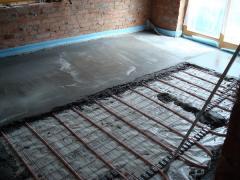 Продаж і монтаж теплих підлог