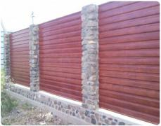 Профнастил покрівельний, стіновий, оцинкований, пофарбований по RAL