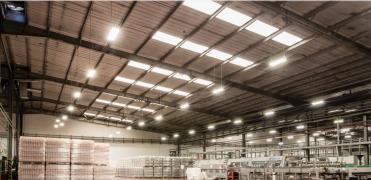 Промислове світлодіодне освітлення під ключ