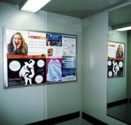 Реклама у подъездах, Реклама у ліфтах, Реклама в транспорті