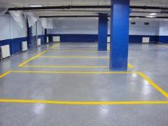 Ремонт бетонних підлог. Полімерні наливні підлоги