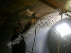Ремонт (реставрація) зовнішня внутрішня фарбування водонапірних ба