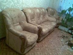 Ремонт та перетяжка м'яких меблів в Харкові