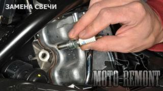 Repair and maintenance of motorcycles, Kiev