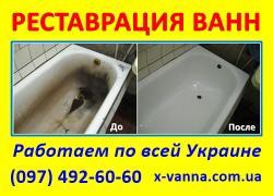 Реставрація ванн на території України