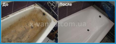 Реставрація ванн по всій Україні