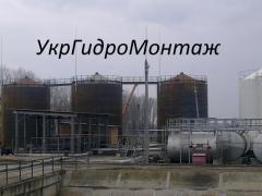 Резервуари (ємності) для води