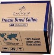 Розчинна кава на вагу в ящиках кокам, касік, игуация