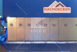 Сегментний верстат Dachdecker – оптимальне поєднання ціни та якості