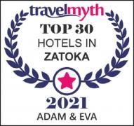 Selling hotel Adam and Eve on the Black Sea. Sunrise-2021