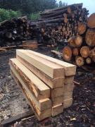 Шпала від виробника з свіжого спиляного лісу