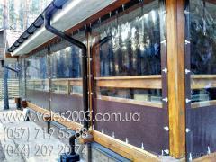 Штори для альтанок і веранд, терас, літніх кафе, дачі (виготовле