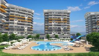 Siberland-оливковий сад апартаменти в Авсалларе Аланія Туреччина