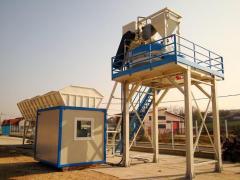 Стаціонарний бетонний завод РБУ, БСУ 60 м3/год