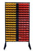 Стійка - стелаж однобічний + 153 контейнера