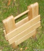 Стілець складаний деревяний