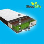 Супер ціна Матрац Omega 160х200 див. Sleep&Fly Organic, 3999 грн
