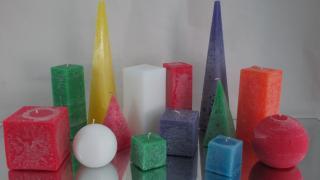 Свічки геометричні