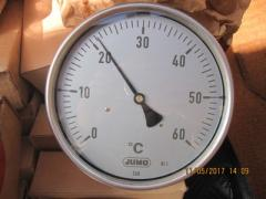 Термометр стрілочний біметалічний JUMO тип 60.8003