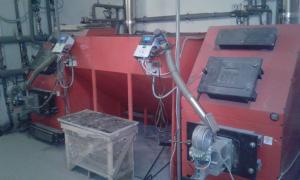 Установка твердопаливних котлів, проектування котелень