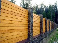 Установка заборів, огорож