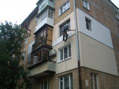 Утеплення фасадів.Реставрація
