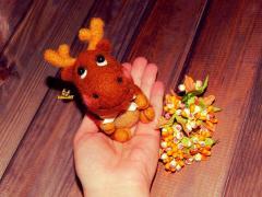 Валяне іграшка своїми руками