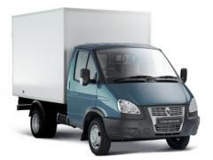 Вантажоперевезення. Доставка вантажів до 2,5 тонн по місту та області