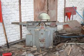 Верстат фуговально-розпилювальний заводський чавунний