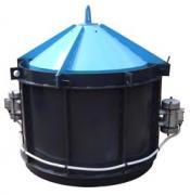 Вібро Форма Посилена для виробництва залізо бетонних колодезны