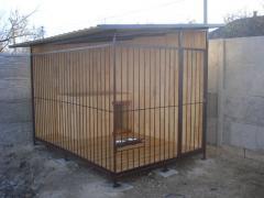 Вольєри, клітки для собак і тварин
