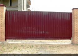 Ворота відкатні, розпашні, розсувні, автоматичні гаражні, промислові