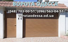 Ворота з хвірткою ціна в Одесі