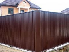 Все на паркан, ворота, ангар, ларьок і ін. конструкції. Недорого