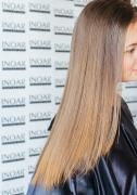 Випрямлення волосся кератином Inoar G-hair