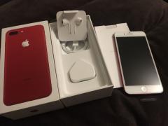 Яблуко iPhone 7 плюс (продукт)червоний 256 ГБ розблокований смартфон