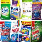 Європейські пральні порошки та інша побутова хімія