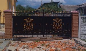 Залізні ворота, гаражні і дворові